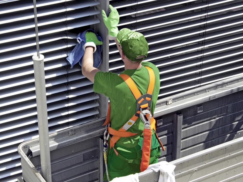 Glasreinigung, Fassadenreinigung